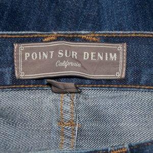 NWT J.CREW Point Sur vintage cropped jean